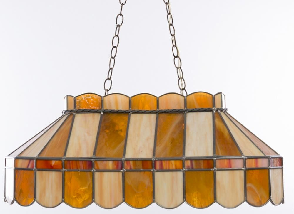 Stained Gl Room Bar Light Fixture By Bremo