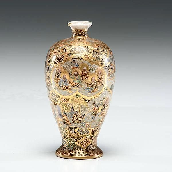 Royal Satsuma Vase By Cowans Auctions Inc Bidsquare