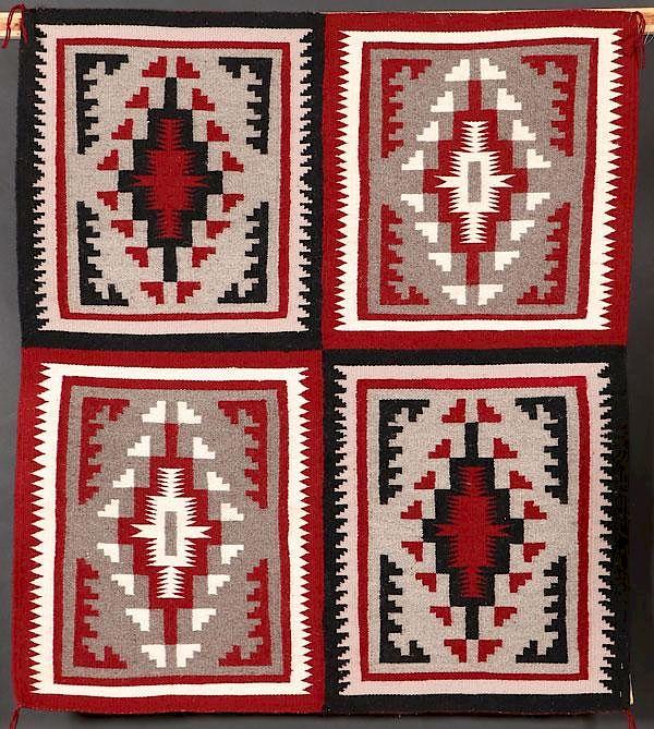 5 Southwest Navajo Weavings And Rugs By Jacksons International