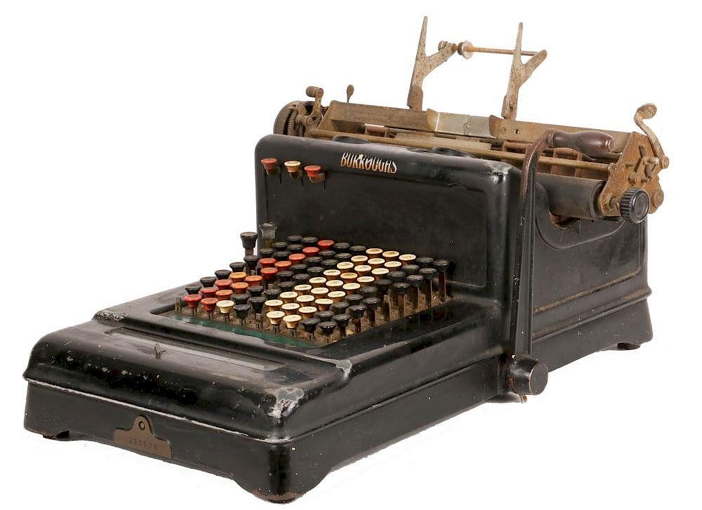 ANTIQUE ADDING MACHINE/CALCULATOR by Thomaston Place Auction