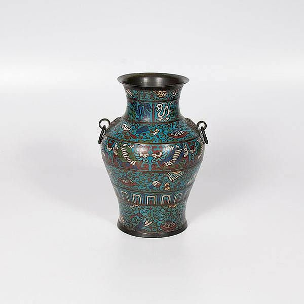 Japanese Champlev Urn By Cowans Auctions Inc Bidsquare