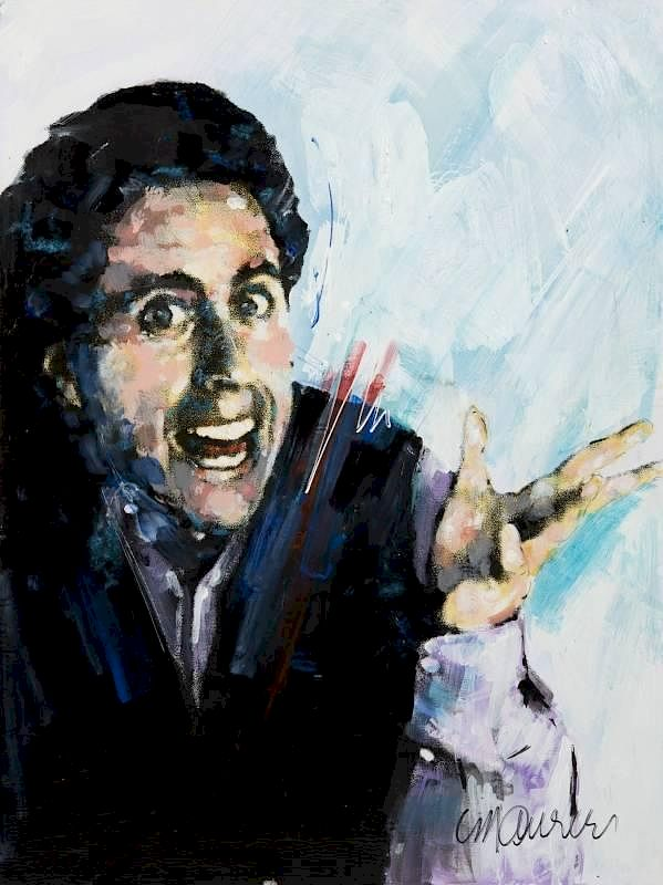 JERRY SEINFELD PAINTING BY SIDNEY MAURER by Julien s Auctions   Bidsquare 05da2a2880
