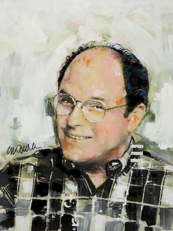 JASON ALEXANDER PAINTING BY SIDNEY MAURER by Julien s Auctions - 134707    Bidsquare dcfc42670d