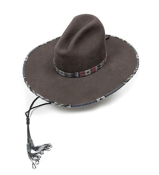 e8300c47b380e A Custom Made Cowboy Hat Rand S Billings Montana Size 6 7 8 By