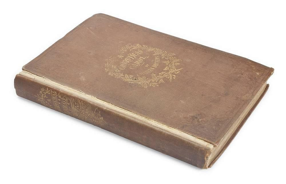 charles dickens a christmas carol first edition by juliens auctions bidsquare - A Christmas Carol First Edition