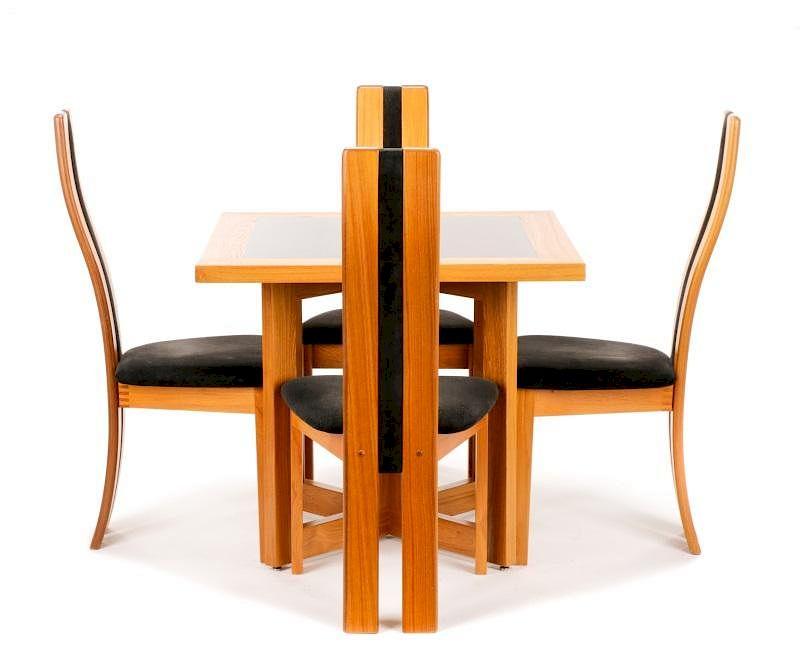 Danish Modern Vamdrup Stolefabrik Dining Set By Ahlers U0026 Ogletree |  Bidsquare