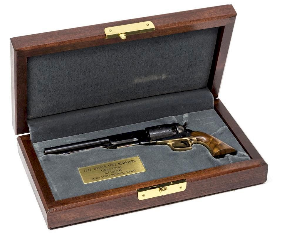 MINIATURE 1847 COLT WALKER REVOLVER by Austin Auction