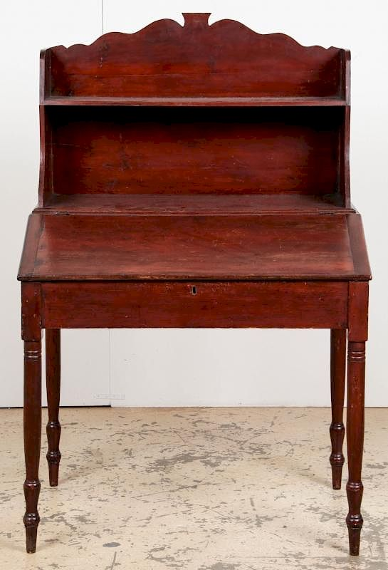 - Antique American Plantation Desk By Material Culture Bidsquare