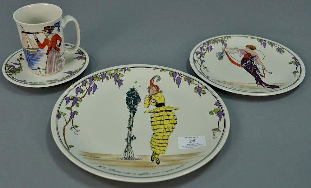 Villeroy Boch Erte Design 1900 Porcelain Dinnerware Set 37