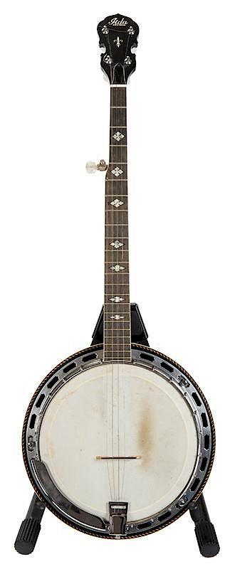1970s Lida Five-String Banjo  by Potter & Potter Auctions