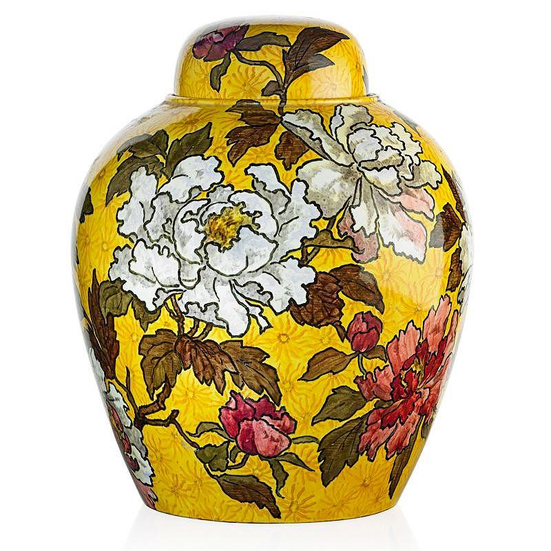 John Bennett Large Covered Jar By Rago Bidsquare
