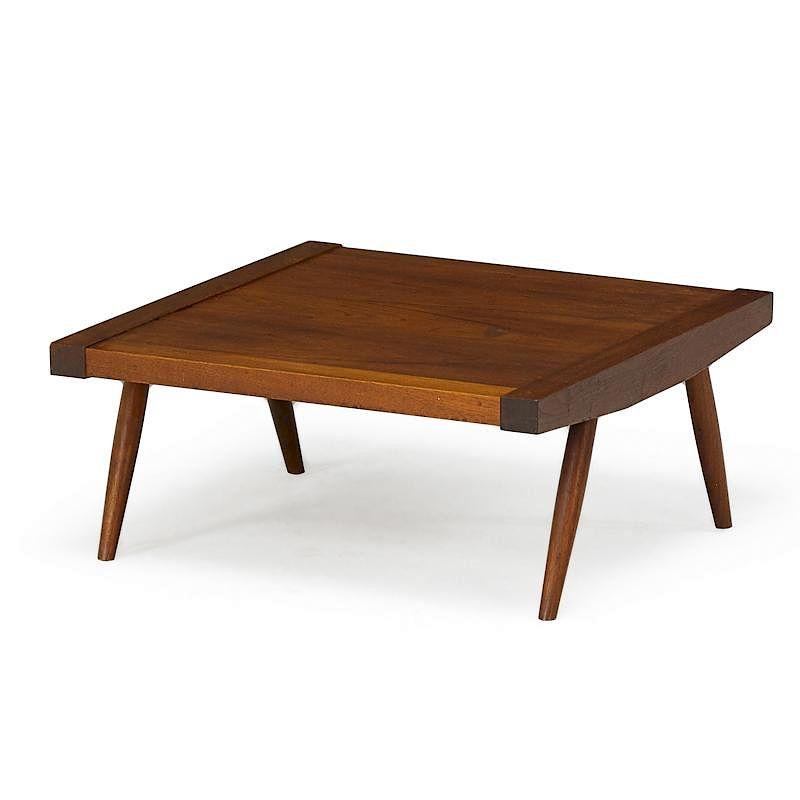 Groovy George Nakashima Table Bench By Rago 884573 Bidsquare Machost Co Dining Chair Design Ideas Machostcouk
