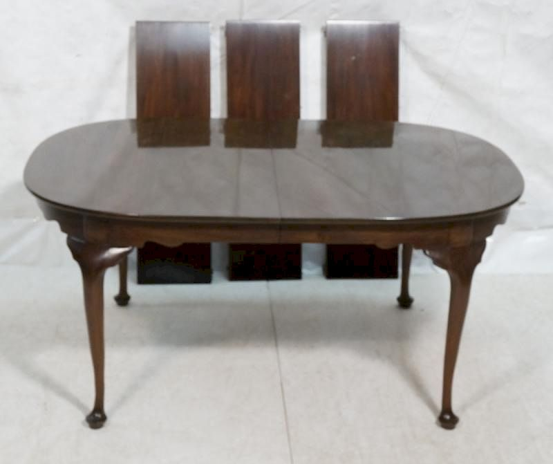 Henkel Harris Mahogany Dining Table Virginia Gal By Uniques Antiques Inc Bidsquare