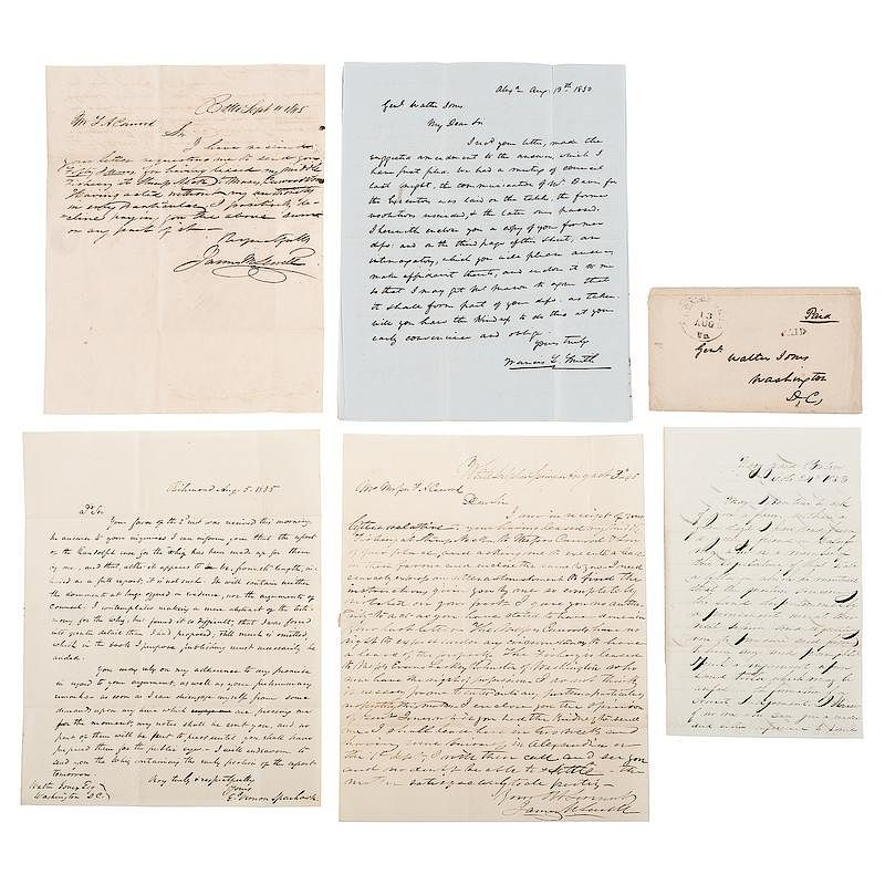 General Walter Jones Correspondence Incl. Letters Concerning
