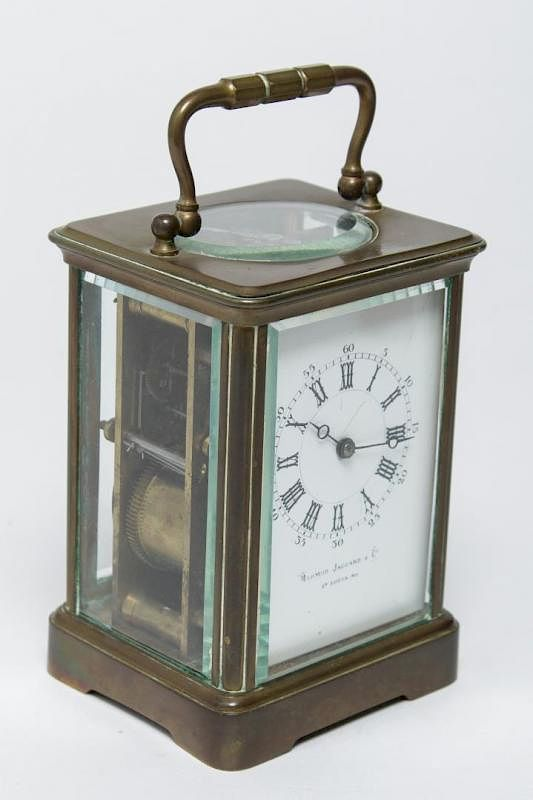 Antique French Carriage Clock By Mermod Jaccard By Showplace Antique