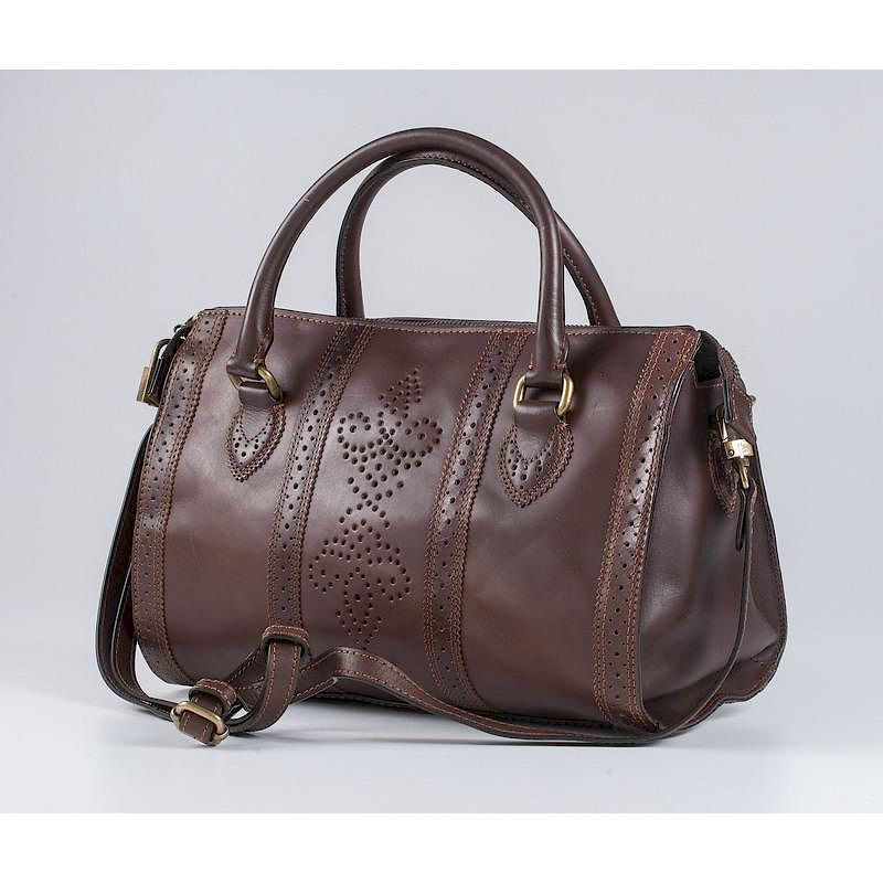 Brooks Brothers Brown Leather Handbag By Cowan S Auctions Inc Bidsquare