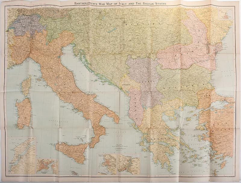 Military World War One Cartography Miscellaneous Maps Wwi