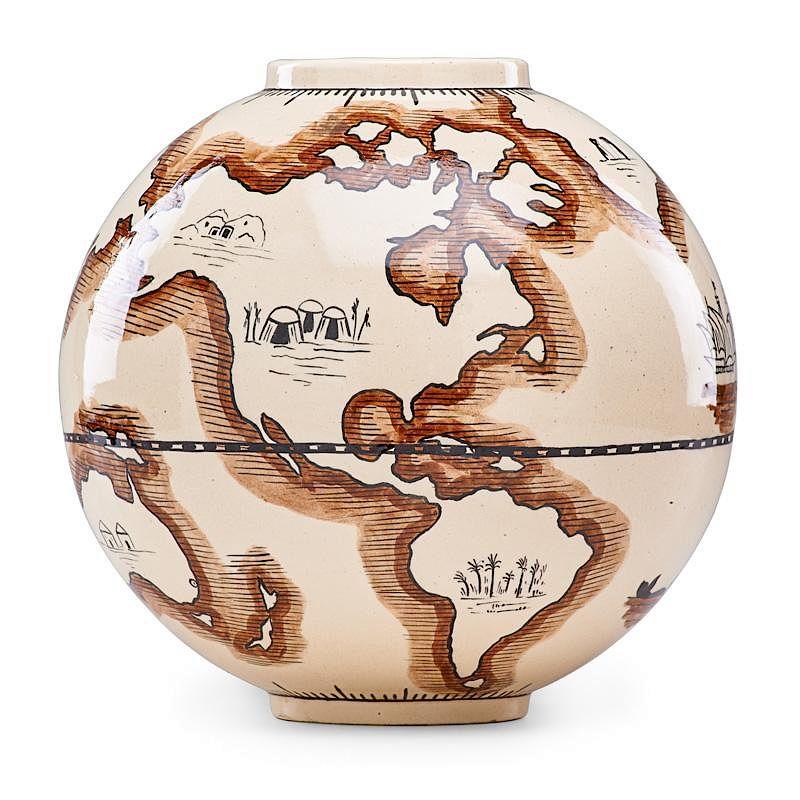 T R Robert Lallemant 1925 Pottery CATALOGUE Art Deco Ceramic Vase Lamp Sculpture