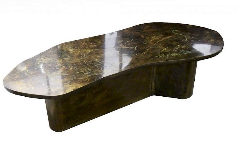 Philip Laverne Coffee Table.Philip Kelvin Laverne Coffee Table By Sarasota Estate Auction