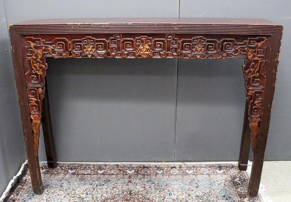 Antique Japanese Altar Table