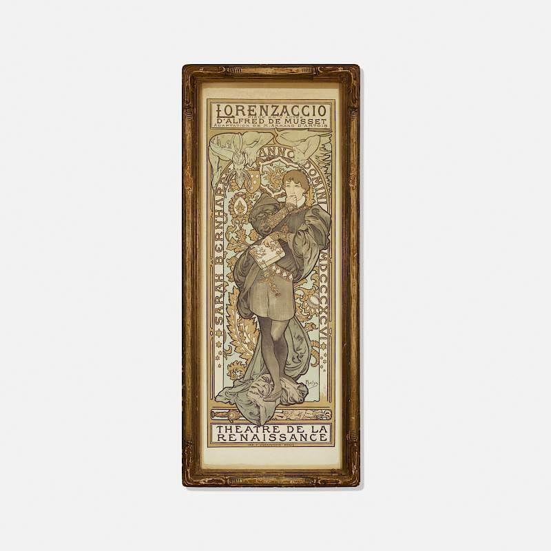 Alphonse Mucha, Lorenzaccio, Theatre de la Renaissance by