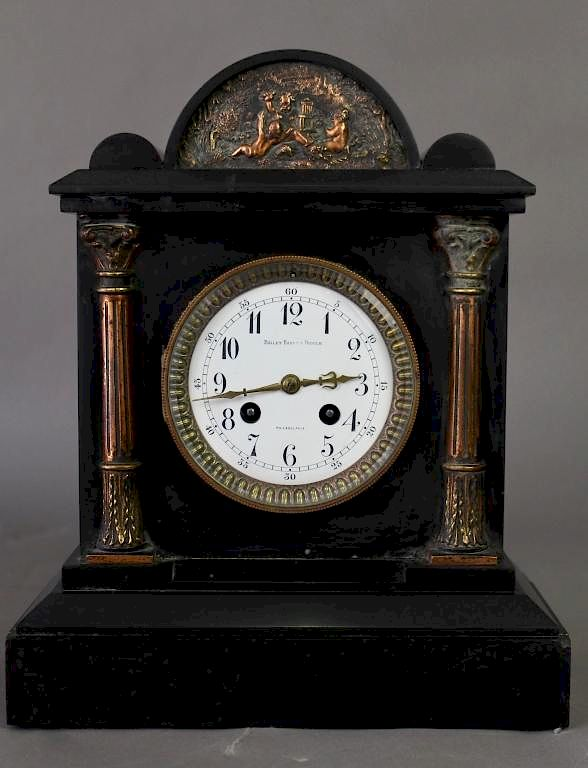 Bailey Banks And Biddle Mantle Clock By A 1 Auction Llc 1021313 Bidsquare