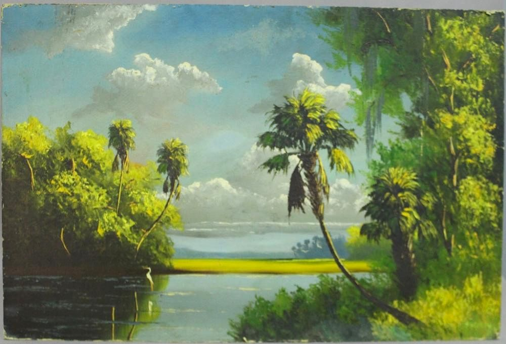 Harold Newton, Florida Highwaymen Artist by A-1 Auction LLC