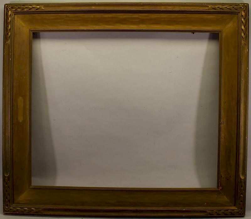 Wooden Arts Crafts Style Frame By Sarasota Estate Auction