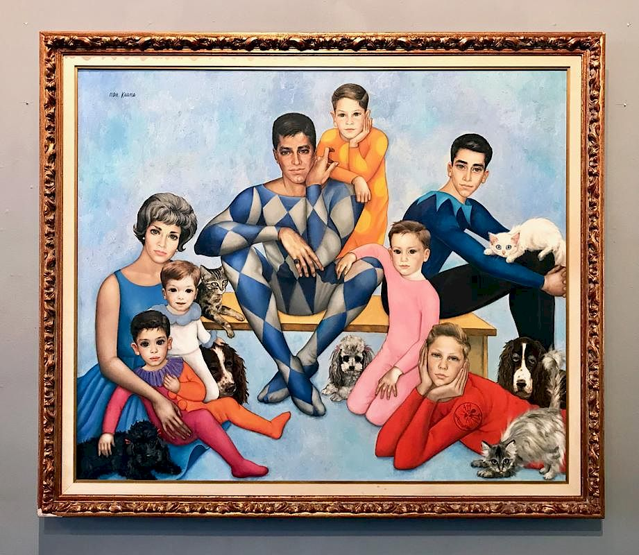 margaret keane born 1927 by santa monica auctions bidsquare