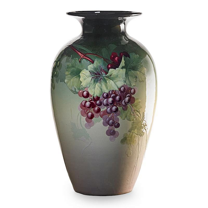 Charles Chilcote Weller Floor Vase By Rago Bidsquare