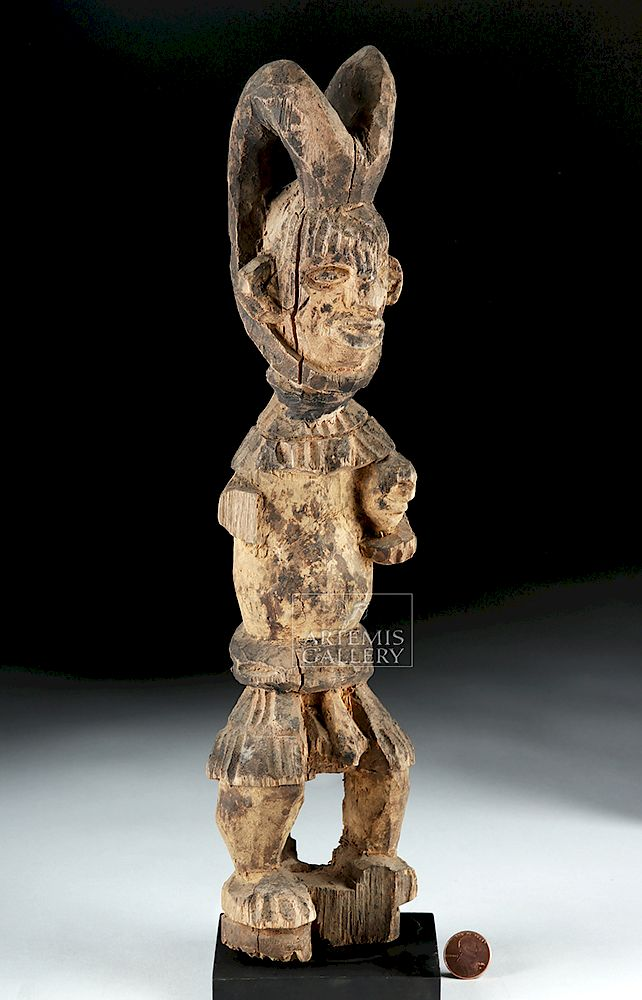 Outstanding Early 20Th C African Igbo Wooden Alusi Ikenga Figure By Forskolin Free Trial Chair Design Images Forskolin Free Trialorg