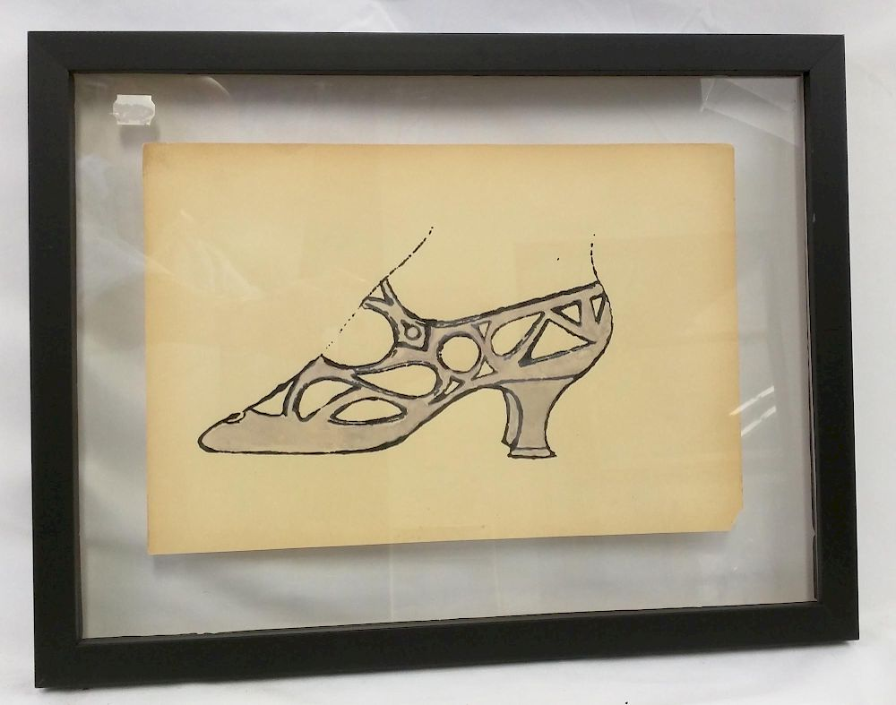 watercolor after andy warhol by hidden treasures antiques and fine