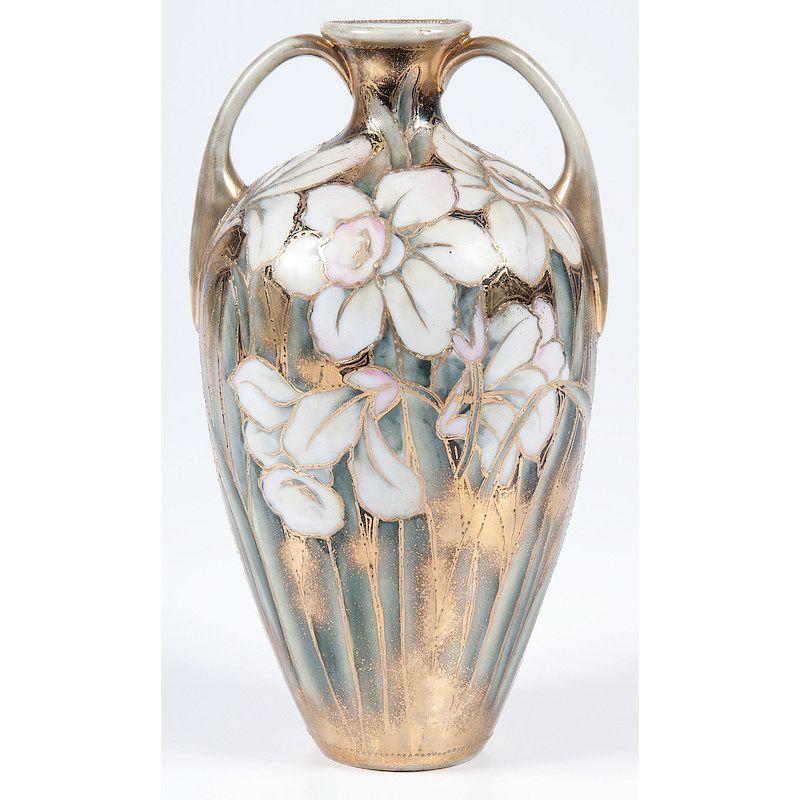Nippon Moriage Vase By Cowans Auctions Inc Bidsquare