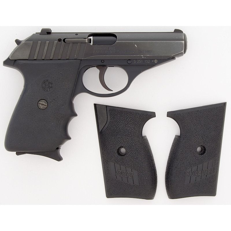 sig arms p232 pistol by cowan s auctions inc bidsquare