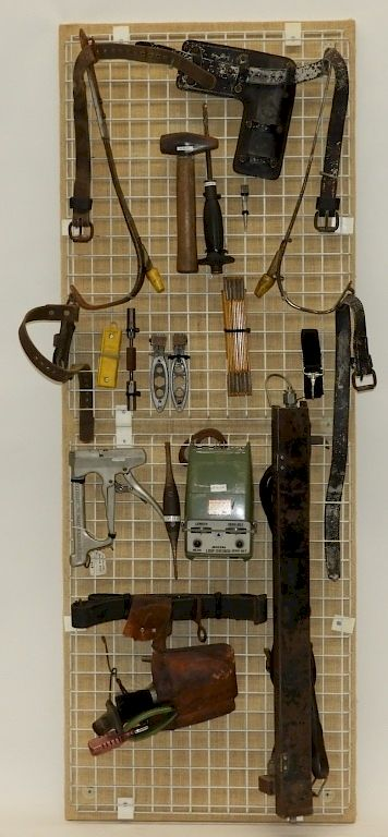 Bell Telephone Lineman Repair Tool Collection by Bruneau