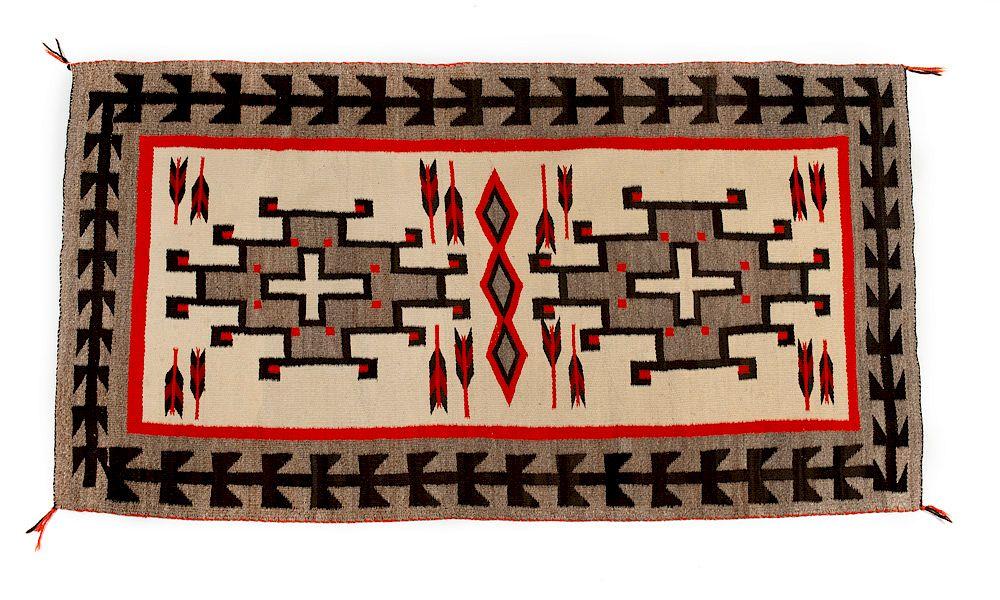 Navajo Rug By Santa Fe Art Auction 1133031 Bidsquare