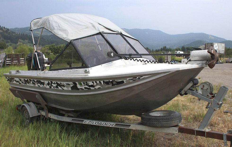 1990 Aluminum Almar Outboard Jet Boat by North American Auction Company - 1133853 | Bidsquare