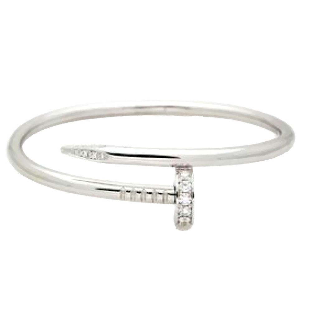 Cartier White Gold Nail Bracelet By Allure Antique Auction Company Bidsquare