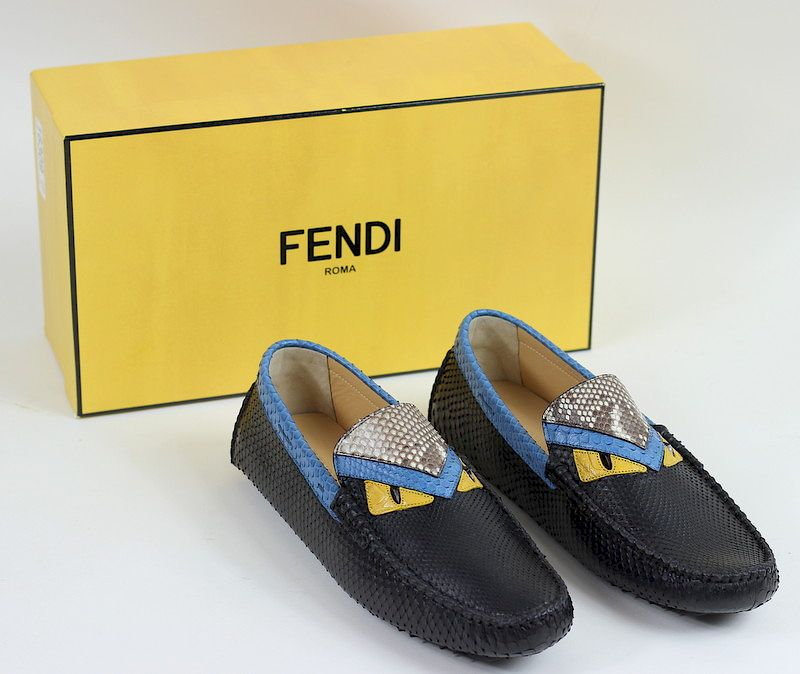 Men s Fendi Monster Eyes Loafers   Bow Tie by Joshua Kodner - 1143376  08d6bed0d