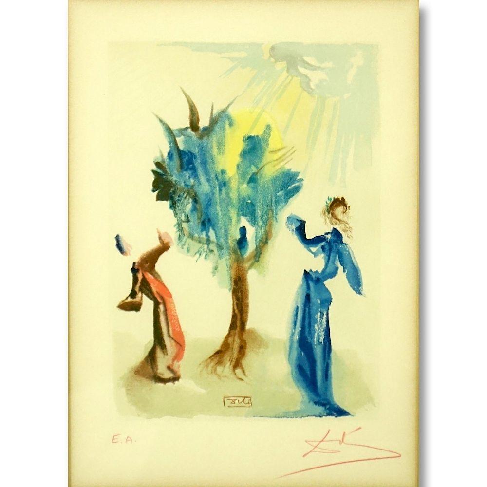 Salvador Dalí, Spanish (1904–1989) Color Litho by Kodner Galleries ...