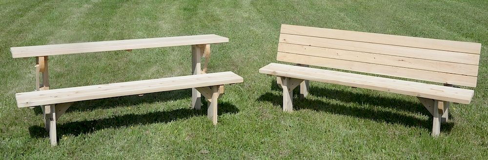 Wondrous Amish Made Cedar Bench Converts To Half Picnic Table Sun Evergreenethics Interior Chair Design Evergreenethicsorg
