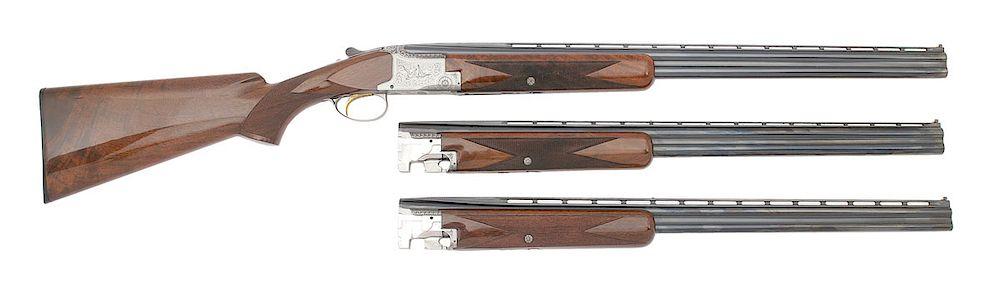 Browning Superposed Pigeon Grade Skeet Over Under Shotgun
