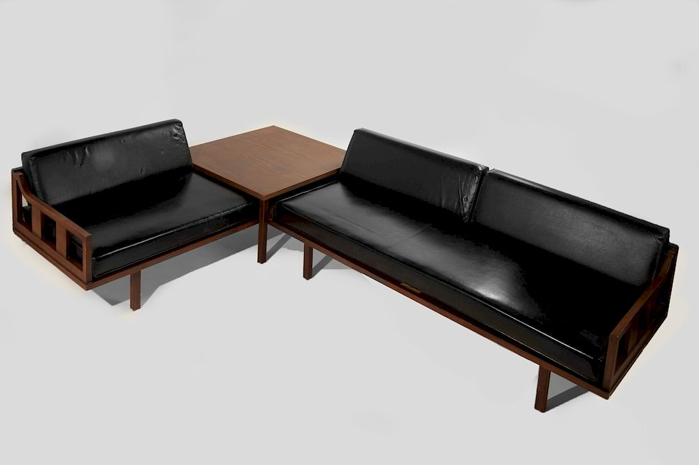 Rubee Furniture Co Sofa Lounge Group by Cordier Auctions ...