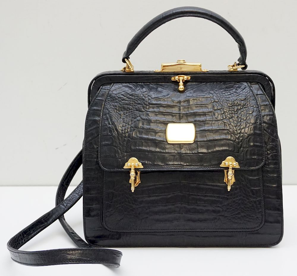 Valentino Garavani Alligator Bag By Charleston Estate Auctions Bidsquare