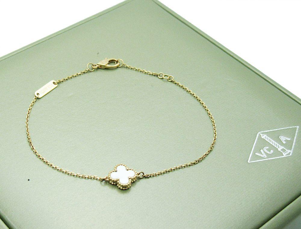 Van Cleef Arpels Sweet Alhambra Bracelet By Allure Antique Auction