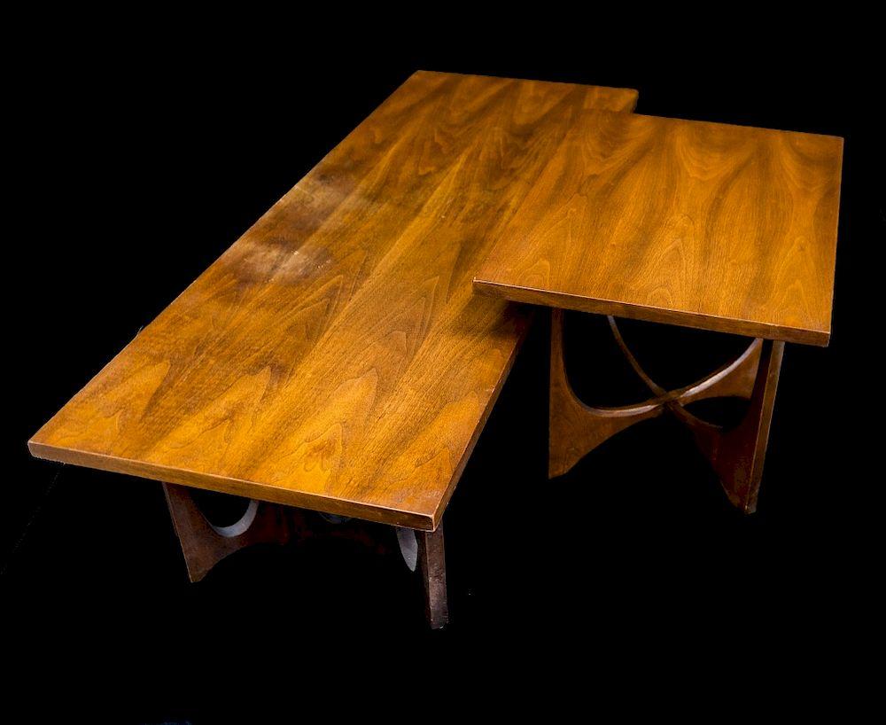 Fine Walnut Broyhill Brasilia Coffee Table W End Table By Ross Uwap Interior Chair Design Uwaporg