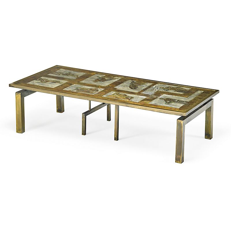 Philip Laverne Coffee Table.Philip Kelvin Laverne Medici Coffee Table By Rago 1262406