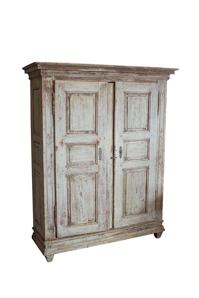 Antique Gustavian Cupboard by Uniquities Architectural Antiques Inc. |  Bidsquare - Antique Gustavian Cupboard By Uniquities Architectural Antiques Inc