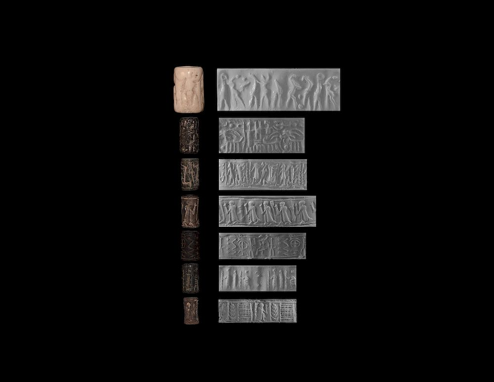 Western Asiatic Cylinder Seal Collection by TimeLine