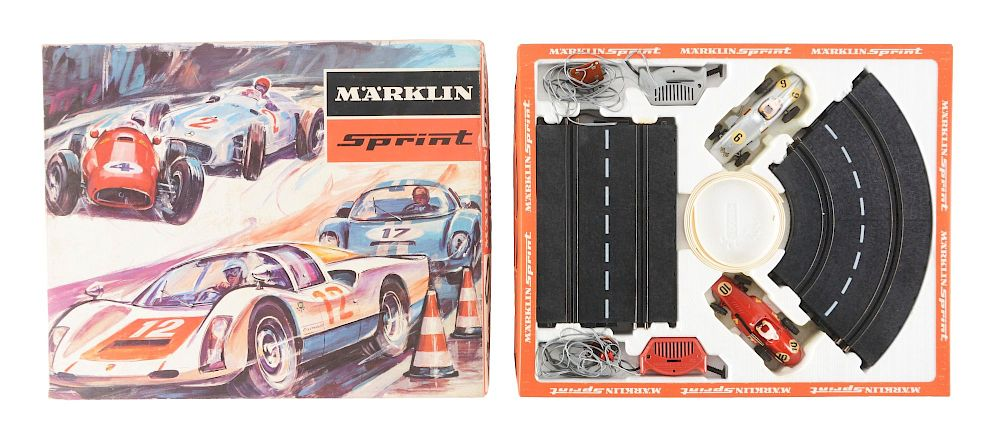 Lot of 4: Boxed Slot Car Sets  by Morphy Auctions - 1315614